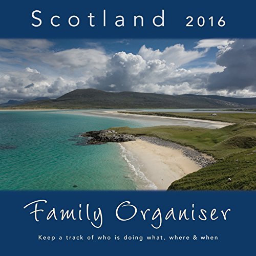 9781841076140: Scotland Family Organiser Wall Calendar by Colin Baxter Photography
