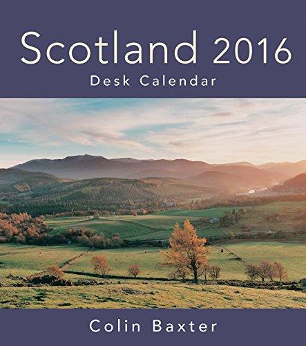 9781841076331: Scotland 2016 Desk Calendar