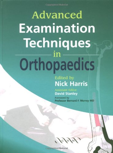 9781841100739: Advanced Examination Techniques in Orthopaedics