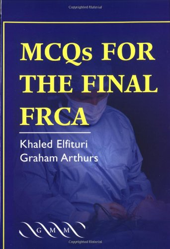 9781841102122: MCQs for the Final FRCA