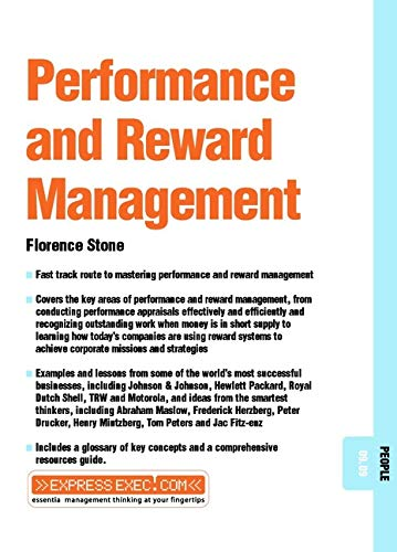 9781841122076: Performance and Reward Management: People 09.09 (Express Exec)