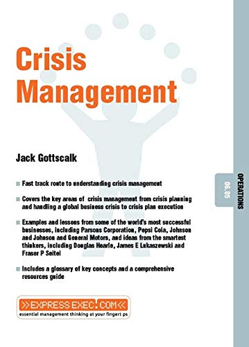 9781841122151: Crisis Management: Operations 06.05