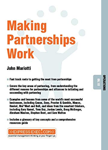 9781841122236: Making Partnerships Work: Operations 06.10 (Express Exec)