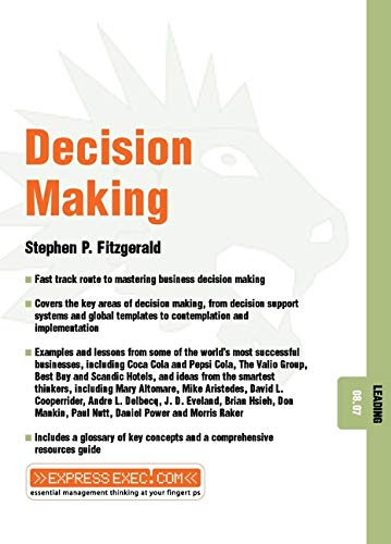 9781841122557: Decision Making: Leading 08.07 (Express Exec)