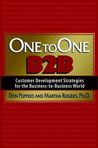 9781841123127: One to One B2B: Customer Development Strategies for the Business-to-business World