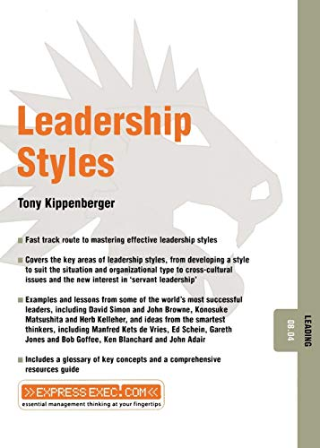 9781841123578: Leadership Styles: Leading 08.04
