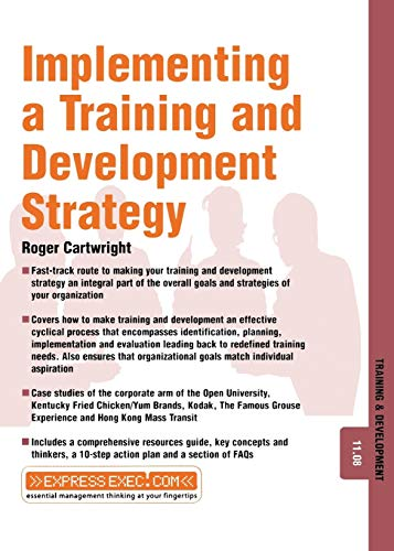 9781841124490: Implementing a Training and Development Strategy (Express Exec)