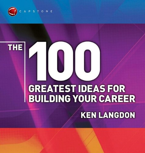 9781841125121: The 100 Greatest Ideas for Building Your Career