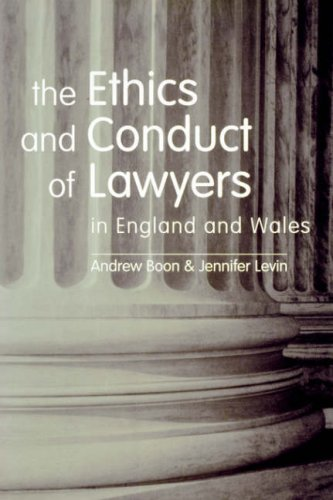 9781841130194: The Ethics and Conduct of Lawyers in the UK