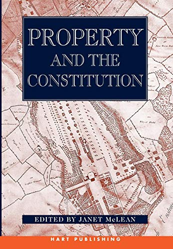 9781841130552: Property and the Constitution