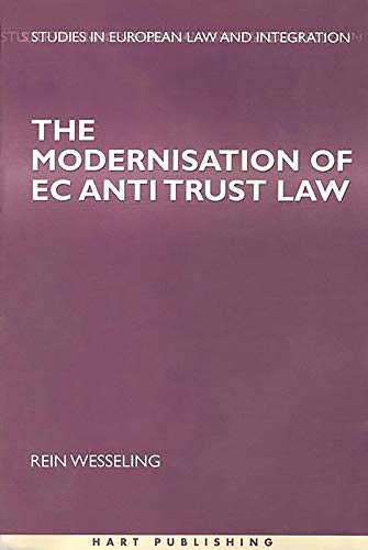 9781841131214: Modernisation of EC Antitrust Law (Studies in European Law and Integration)