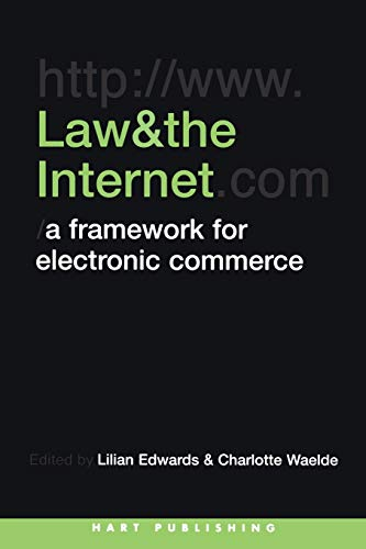 9781841131412: Law and the Internet: Aframework for Electronic Commerce