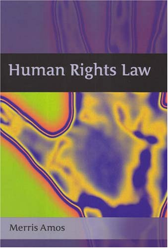 9781841132327: Human Rights Law