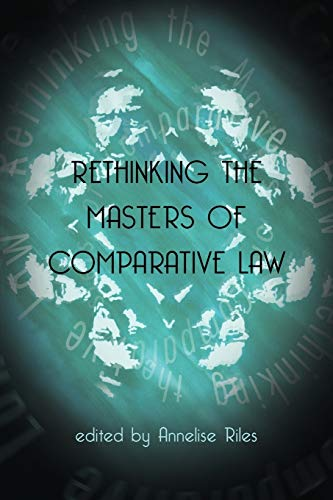 9781841132907: Rethinking the Masters of Comparative Law