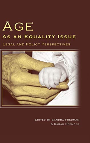 Age as an Equality Issue - Legal and Policy Perspectives: Fredman, Sandra