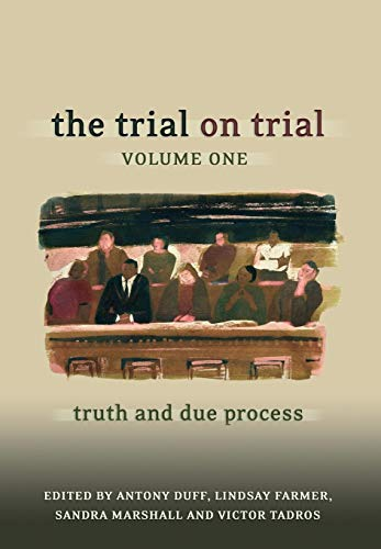 9781841134420: The Trial on Trial: Volume 1: Truth and Due Process