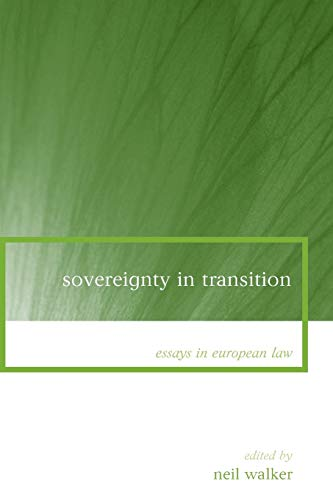 9781841135649: Sovereignty in Transition