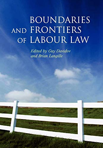 9781841135953: Boundaries and Frontiers of Labour Law: Goals and Means in the Regulation of Work