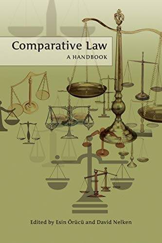 9781841135960: Comparative Law: A Handbook
