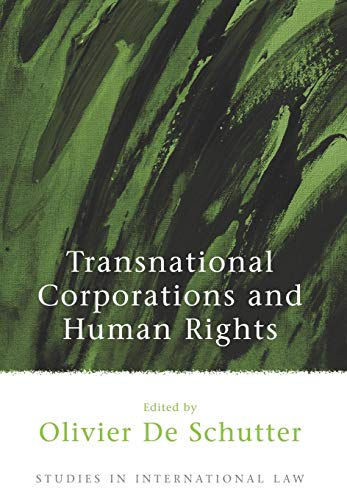 9781841136530: Transnational Corporations and Human Rights (Studies in International Law)