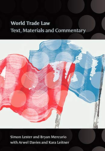 9781841136608: World Trade Law: Text, Materials and Commentary