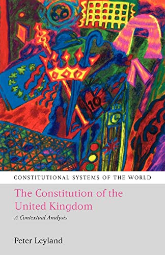 9781841136660: The Constitution of the United Kingdom: A Contextual Analysis