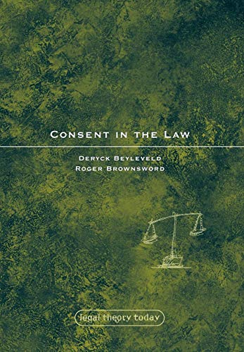 9781841136790: Consent in the Law (Legal Theory Today)