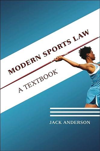 9781841136851: Modern Sports Law: A Textbook