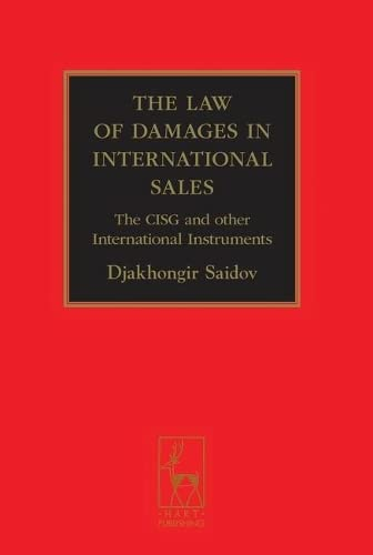 9781841137421: The Law of Damages in International Sales: The CISG and other International Instruments