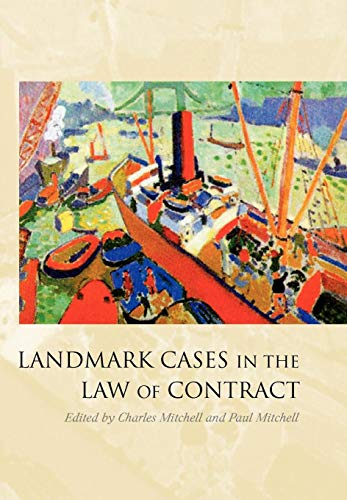 9781841137599: Landmark Cases in the Law of Contract
