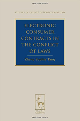 9781841138473: Electronic Consumer Contracts in the Conflict of Laws (Studies in Private International Law)