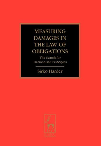 9781841138633: Measuring Damages in the Law of Obligations: The Search for Harmonised Principles