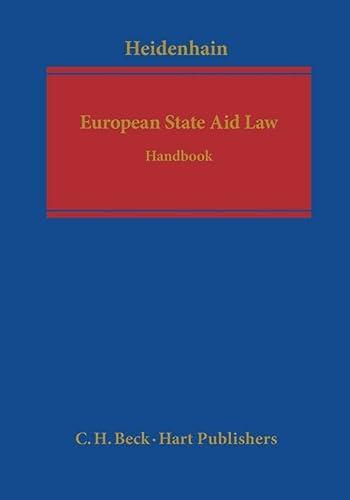 European State Aid Law: A Handbook: Beck/Hart