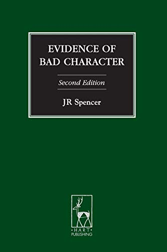 9781841139814: Evidence of Bad Character: Second Edition (Criminal Law Library)