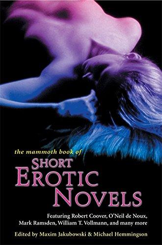 9781841190785: The Mammoth Book of Short Erotic Novels (Mammoth Books)