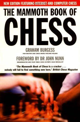 9781841191263: Mammoth Book of Chess (Mammoth Books)