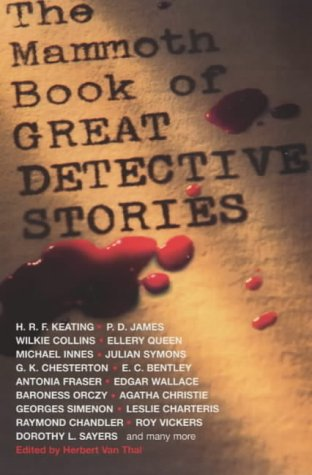 9781841193717: The Mammoth Book of Great Detective Stories
