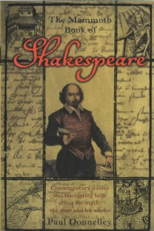 9781841193892: Mammoth Book of Shakespeare