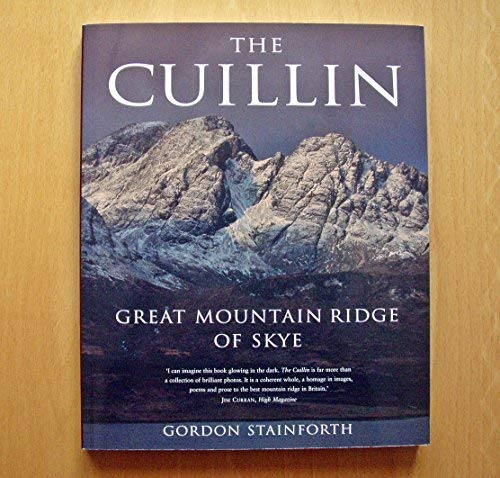 9781841195414: The Cuillin: Great Mountain Ridge of Skye