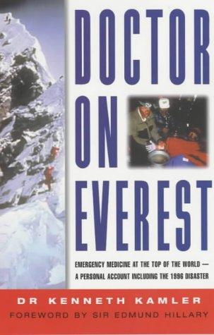 9781841196275: Doctor on Everest