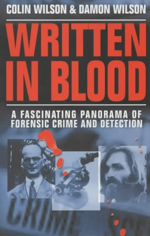 9781841198071: Written in Blood : A History of Forensic Detection