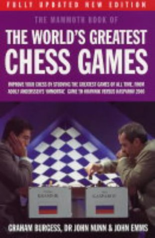 9781841199054: Mammoth Book of the World's Greatest Chess Games