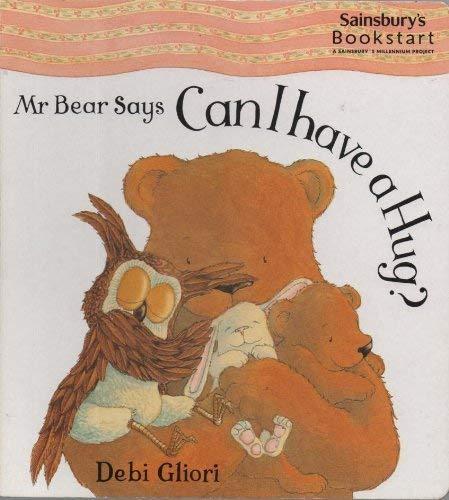 9781841212210: Mr. Bear Says Can I Have a Hug?
