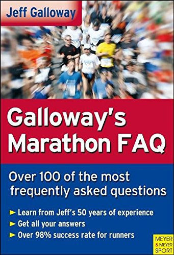 9781841262666: Galloway's Marathon FAQ: Over 100 of the Most Frequently Asked Questions