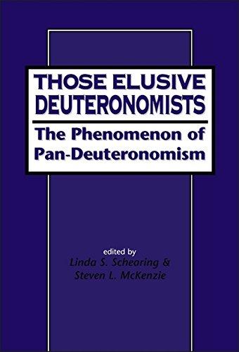 9781841270104: Those Elusive Deuteronomists: The Phenomenon of Pan-Deuteronomism (Journal for the Study of the Old Testament Series, 268)