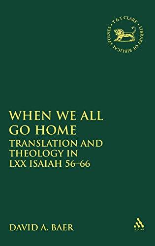 When We All Go Home: David A. Baer