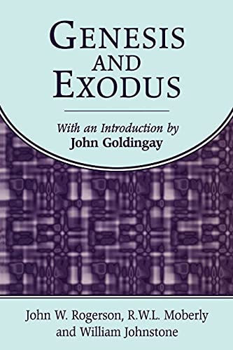 Genesis and Exodus (Biblical Guides) (9781841271910) by William Johnstone; R. W. L. Moberly; John W. Rogerson