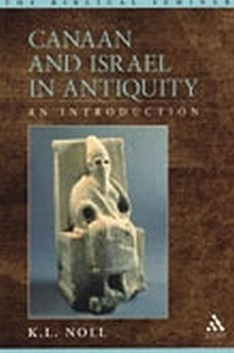 9781841272580: Canaan and Israel in Antiquity: An Introduction (Biblical Seminar)