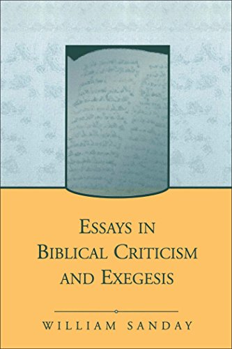 9781841272818: Essays in Biblical Criticism and Exegesis (Journal for the Study of the New Testament Supplement S.)