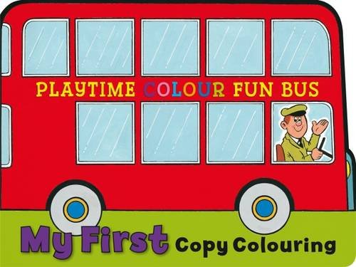 9781841352725: My First Copy Colouring: Bus